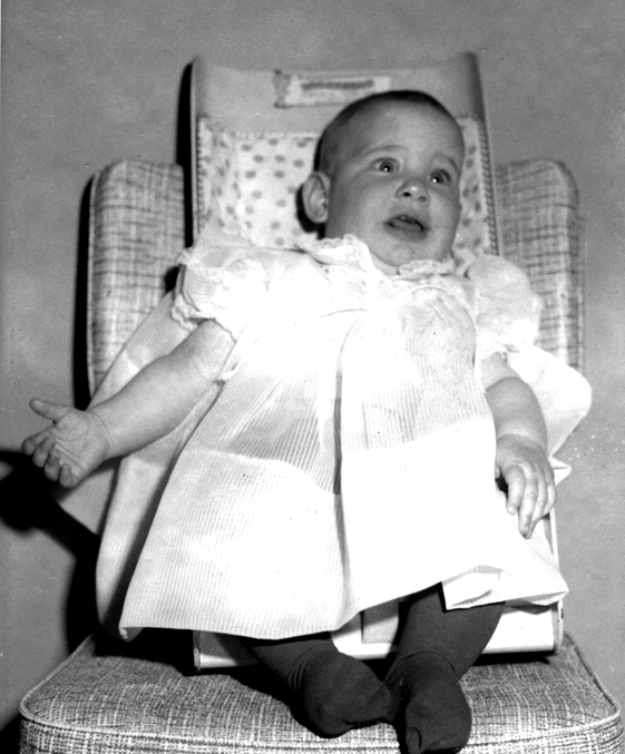 This baby picture of mine works perfectly to describe how my face must have looked before my adjustment.