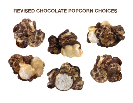 Chocolate Popcorn Choices