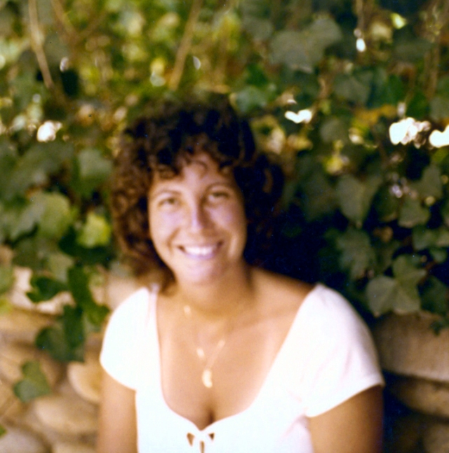 This photo was taken in a garden long ago, when I was 20. I am wearing a necklace given to me by my future husband. After I was married, I never received another piece of jewelry from him.