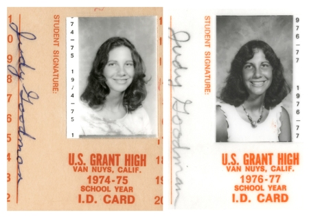 It was strange seeing this old high school ID card again. Who is that girl?