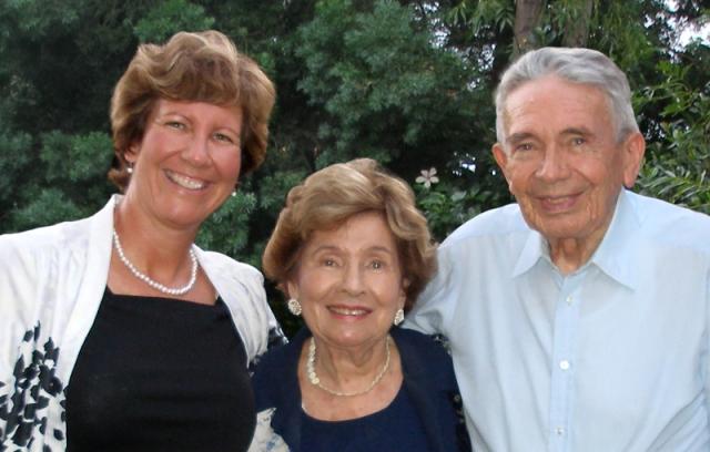 Judy & her parents