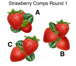 Strawberry Comps Round 1