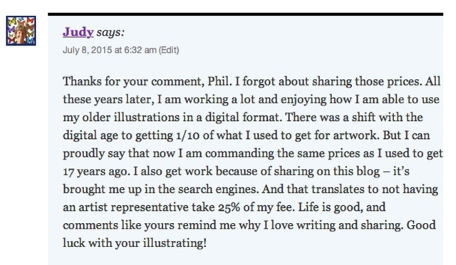 Phils comment art blog