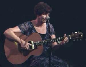 Judy & her guitar