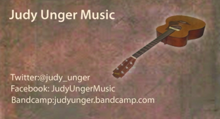 "This is the front of my new ""music"" business card."