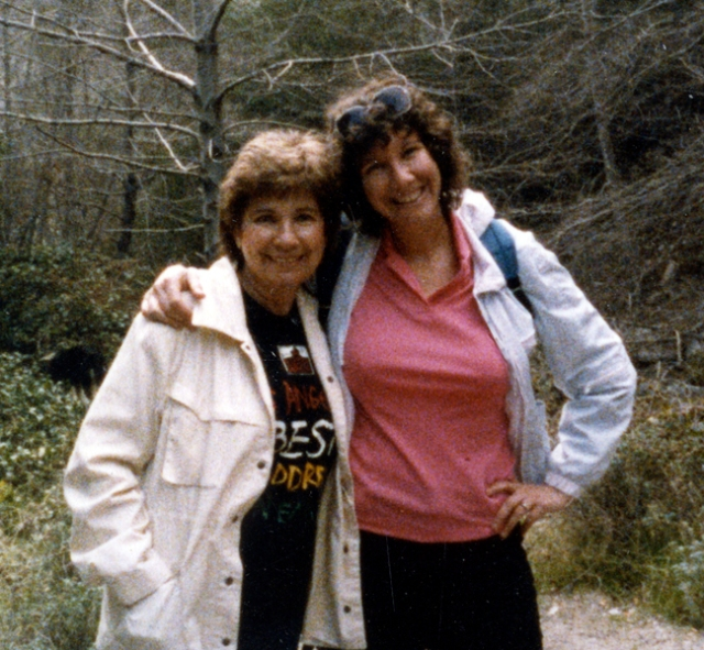 My mom & I
