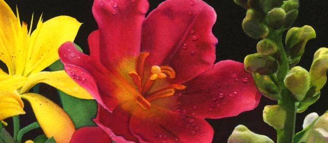 Flower Medley closeup 4