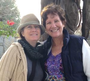Being with my dear friend, Joni – definitely lifted my spirits last week!