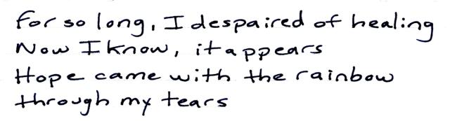 for so long i despaired