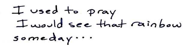 i used to pray