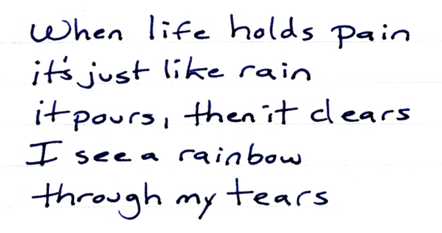 when life holds pain