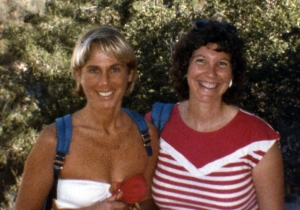 This picture was taken hiking with my college art teacher, Nancy Ohanian.