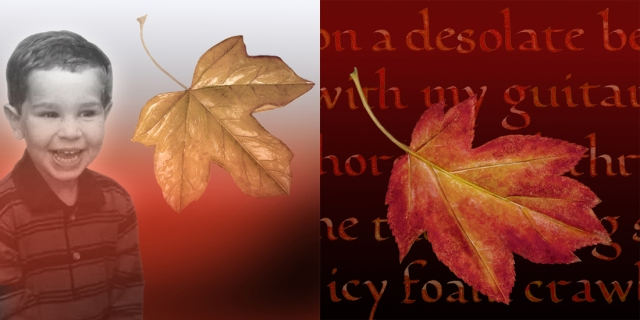 These are two story covers I created using autumn imagery.