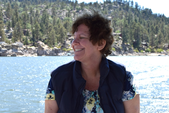 Judy on the Boat 3