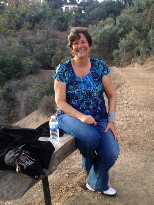 My friend, Joni, took this picture after our sunrise hike a few weeks ago. I was exhausted!