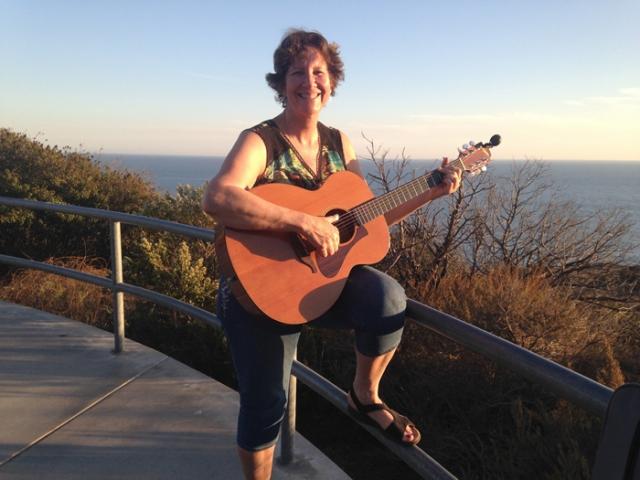 Guitar in Malibu 4