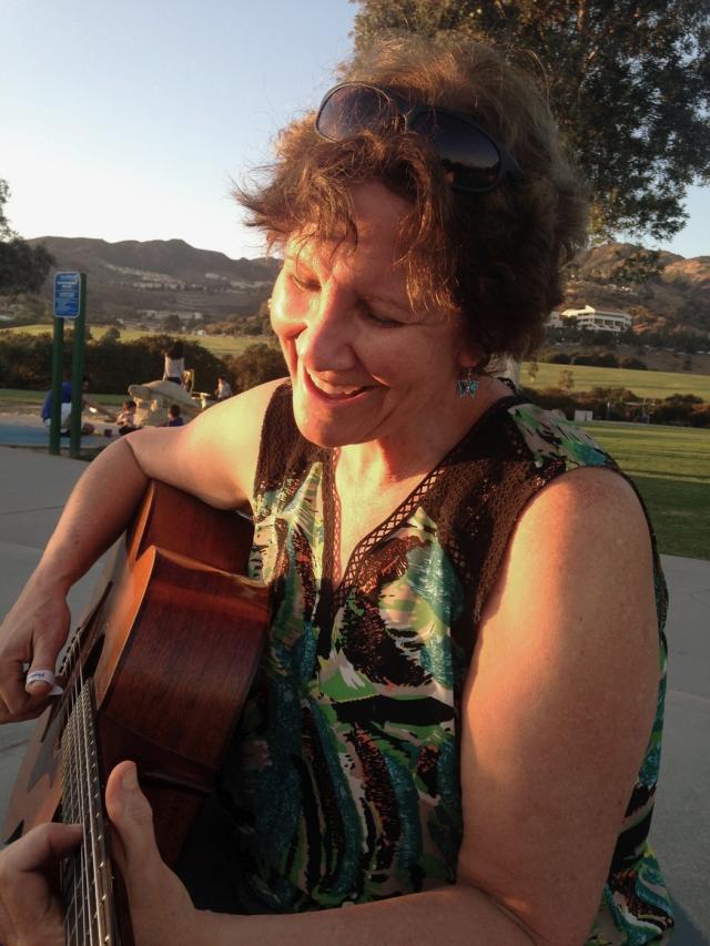 Guitar in Malibu 6