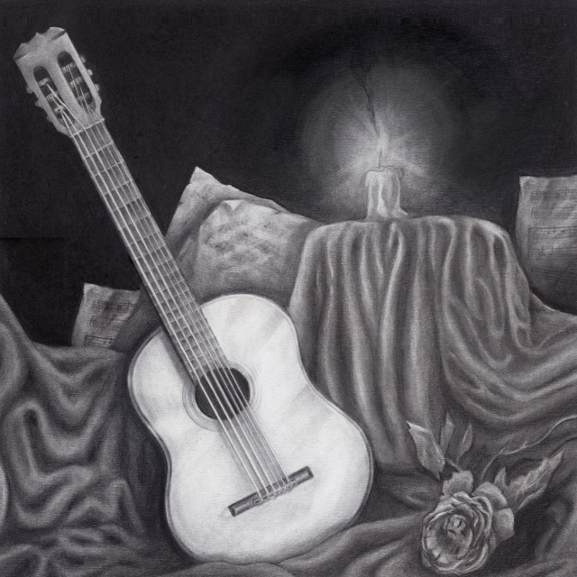 Charcoal Guitar